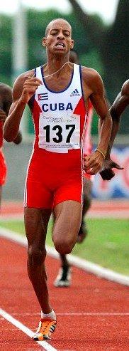 Andy González, campeón en 800m en Guadalajara 2011
