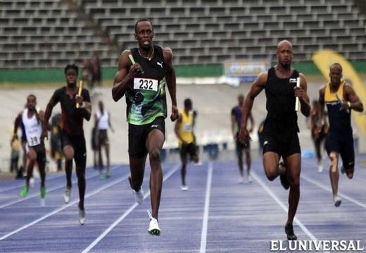 Usain Bolt debuta en el relevo 4x100 con la mejor marca de la temporada
