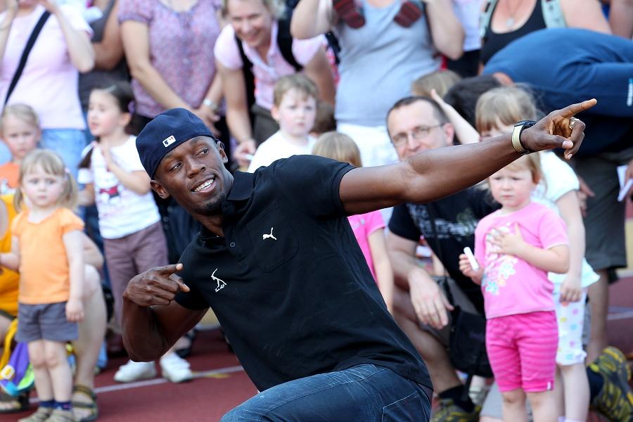 Usain Bolt ya es padre