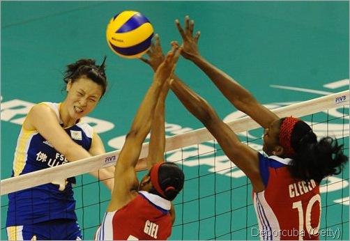 cuba fem vs china 2012