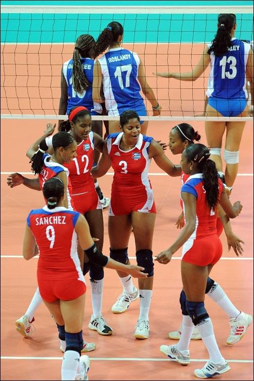 Cuba celebrate one point