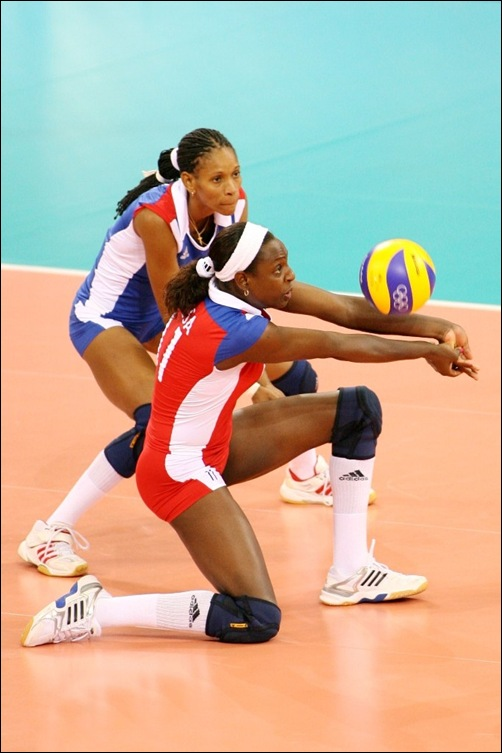 Cuban libero Liana MESA receives