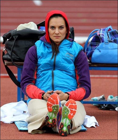 Yelena Isinbayeva en Ostrava