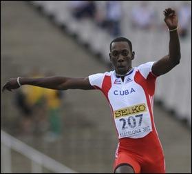 Pedro Pablo Pichardo, líder mundial en el triple salto 2013 con 17.69m. Foto: Internet