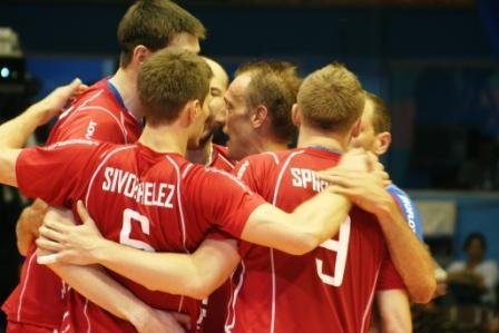 Rusos celebran la victoria