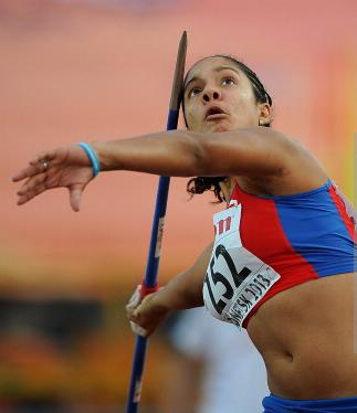 Yulenmis Aguilar, silver medallist in Donetsk_foto Cristopher Lee