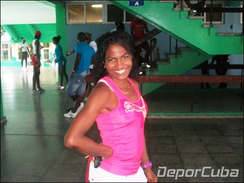 Dailin Belmonte, maratón