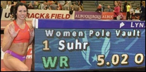 Jennifer Suhr los 5 metros son posibles.