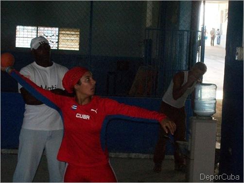 Yulenmis Aguilar, subcampeona mundial del lanzamiento de la jabalina (cadetes)
