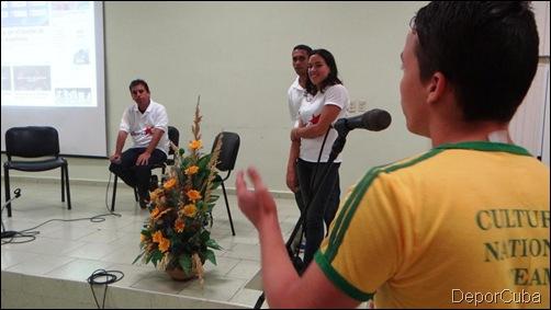 Renier González en la UCI 033
