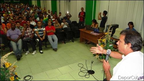 Renier González en la UCI 036