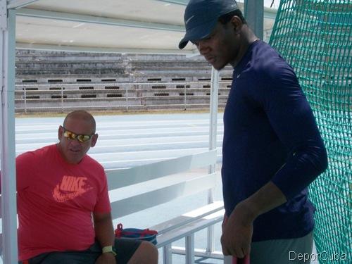 Keshorn Walcot e Ismael Mastrapa, de regreso a La Habana