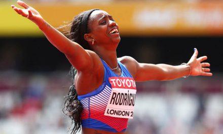 La atleta cubana: Heptalón