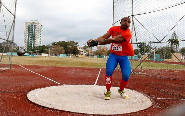 Atleta cubano: Lanzamiento del martillo (M)