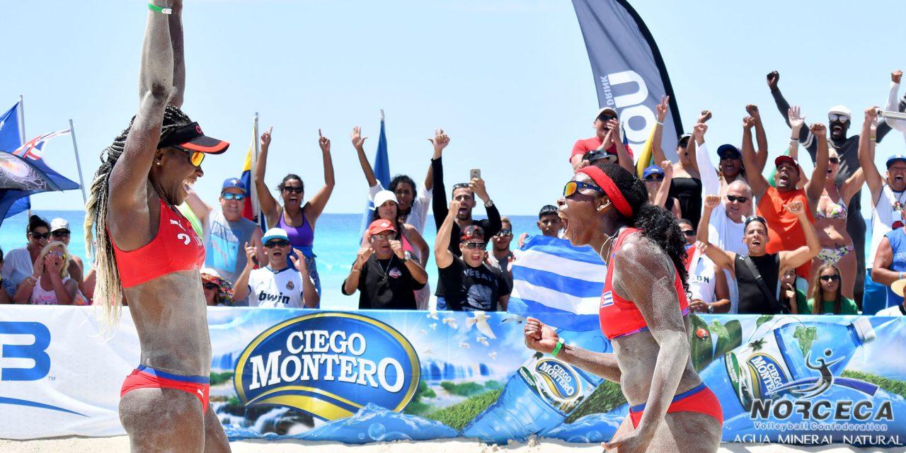 Tour Norceca: Leyla y Maylen se coronaron en Varadero