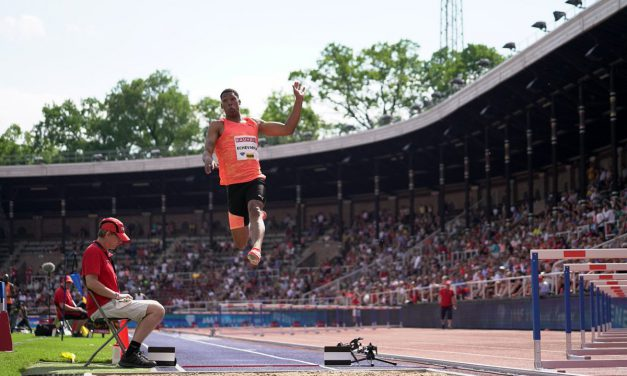 Juan Miguel anda encendido, 8.66 metros en Ostrava