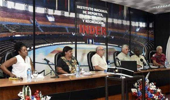 Díaz-Canel intervino en análisis sobre resultados de Cuba en Barranquilla