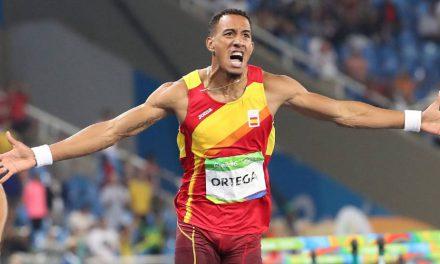 Orlando Ortega: «Me siento muy ilusionado con el futuro del atletismo español»
