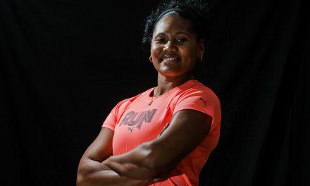 Denia Caballero se sube a lo más alto. Lanza 68.46 metros en La Habana