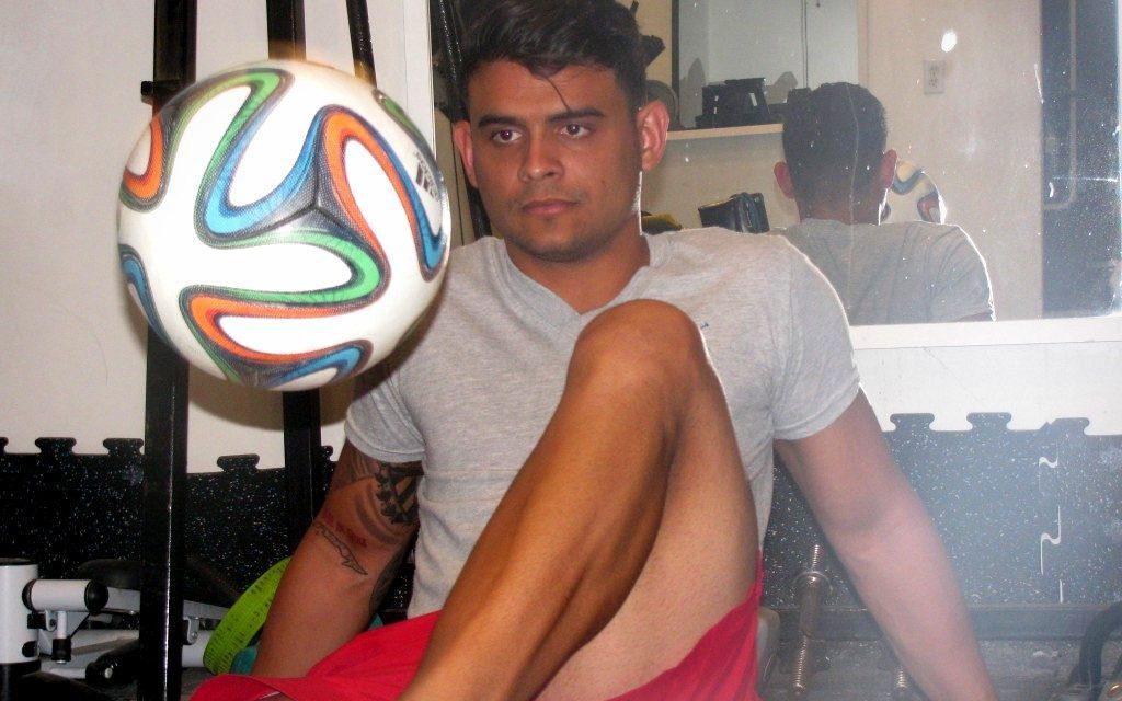 """Luis Carlos García: """"¡Fuerza!; eso es para mí el dominio del balón"""""""