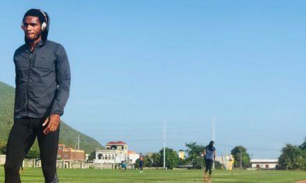 El atleta cubano: 200 metros planos (M)
