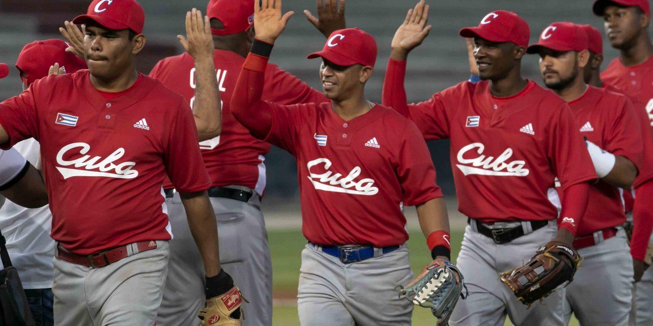 #Lima2019: Aquí el Equipo Cuba de béisbol