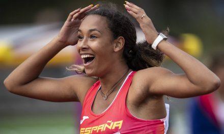 María Vicente, la nueva joya del atletismo español