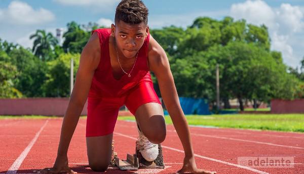 Asiel, el niño más rápido de Cuba
