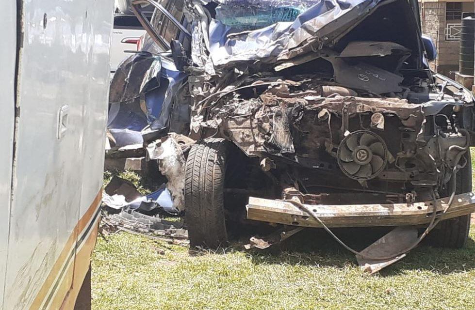 Rudisha sobrevive a un brutal accidente de tráfico