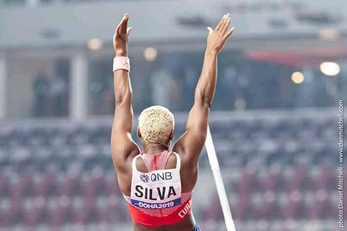 Yarisley Silva, tercera en Lievin con 4.73m