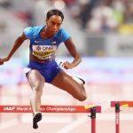 Daliah Muhammad despide la jornada con récord del mundo