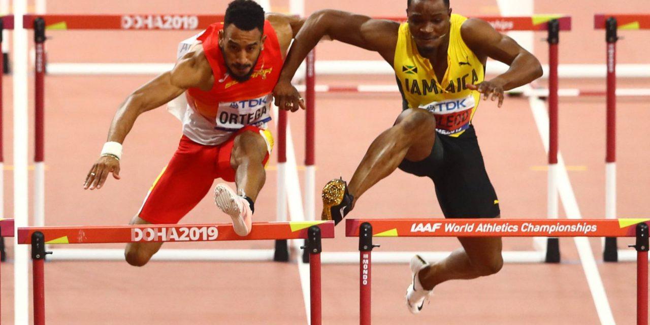 IAAF valida el bronce a Ortega en los 110m vallas