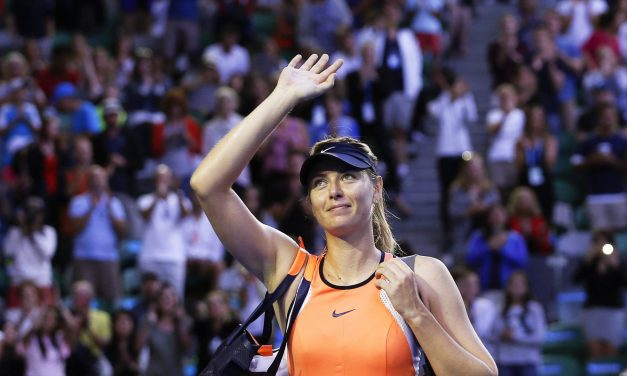 El adiós de Sharapova