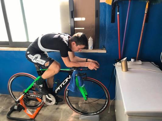 Un ciclista cubano en Lombardía