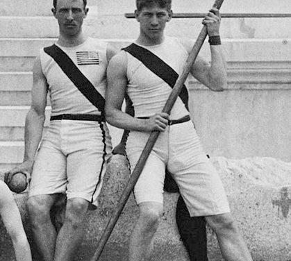 Atletas olímpicos, de cómo Garrett ridiculizó a los griegos