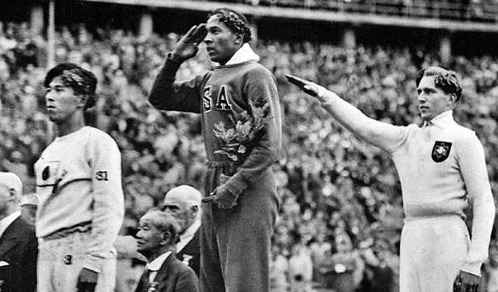 """Atletas olímpicos, Owens y Lutz, """"rivales"""" o amigos"""