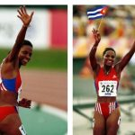 La atleta cubana: 100m con vallas