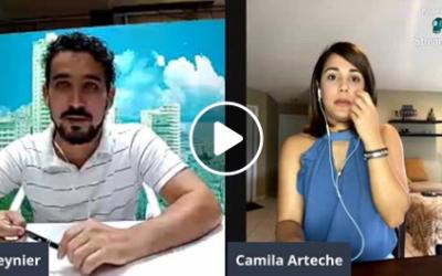 Camila Arteche, con Industriales desde la cuna y la alegría de confirmar una nueva temporada de Bailando en Cuba