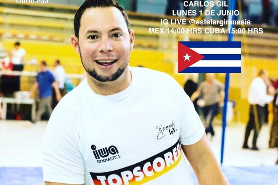 Carlos Gil: Sentir la gimnasia es lo que me mantiene vivo