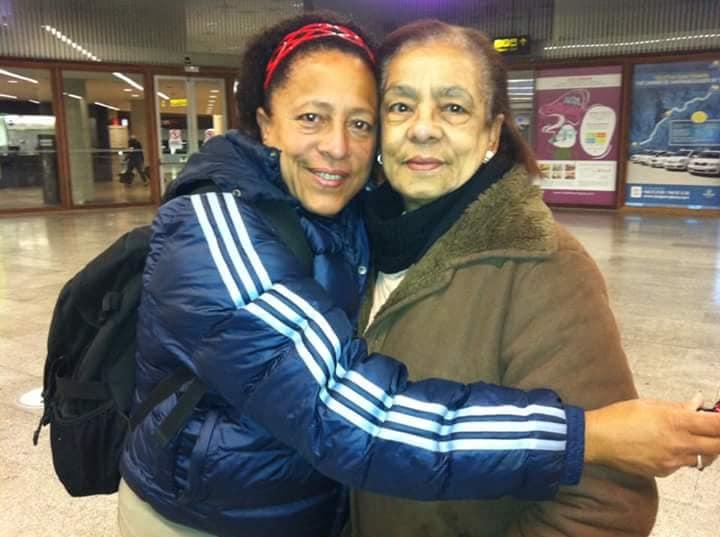 Mayra Vila con su progenitora DORIS MACHADO RUIZ / Foto: Cortesia de la entrevistada