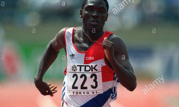 El atleta cubano: 400 metros planos (M)