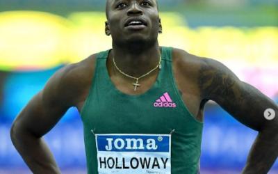 Holloway borra a Jackson en la cima de los 60m con vallas