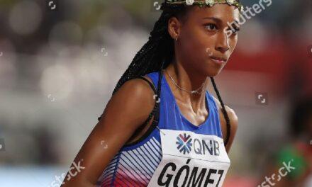 Roxana Gómez y su marca olímpica