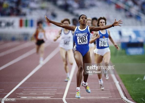 La atleta cubana: 800 metros