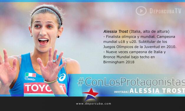 Alessia Trost: «Sotomayor es increíble, es como el Dios de la altura»