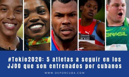5 atletas a seguir en los Juegos Olímpicos que son entrenados por cubanos