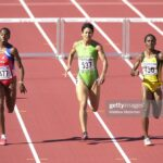 La atleta cubana: 400 metros con vallas