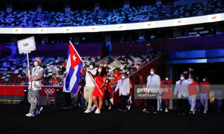En Fotos: Cuba en la Apertura de #Tokio2020