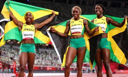 Jamaica sigue dominando los 100 metros (F)