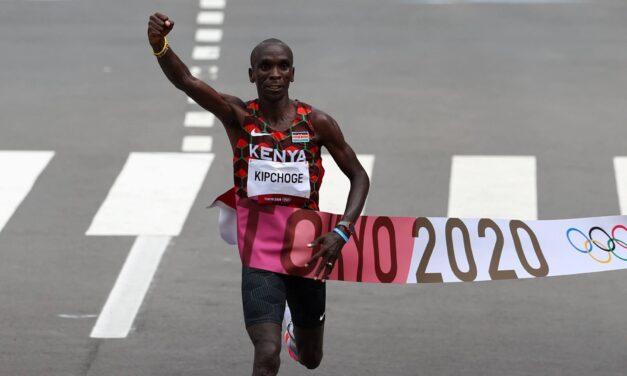 Eliud Kipchoge vuelve a coronar su sueño olímpico